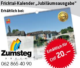 Fricktal-Kalender Zumsteg Druck