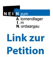 Nein zum Atomendlager