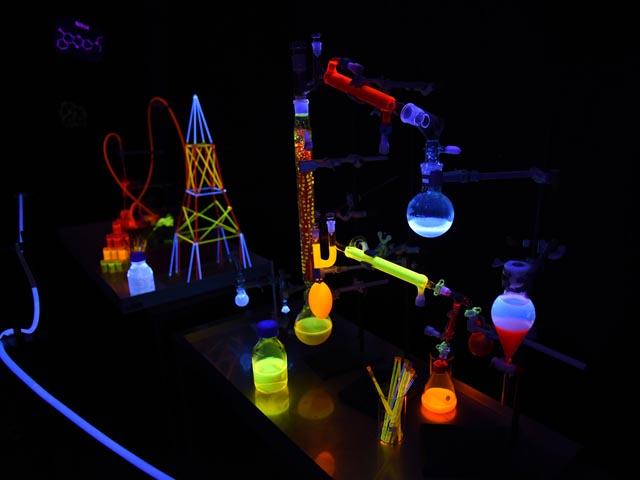 Fluoriszierende Moleküle