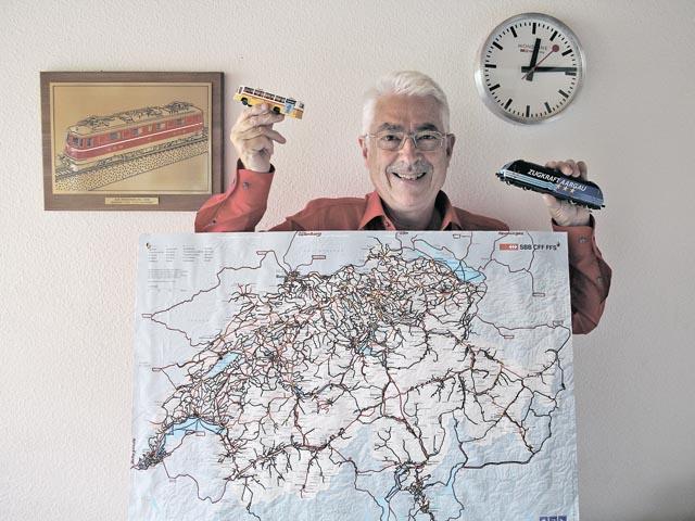 In 10 Jahren rund 550 Touren geplant, bereist und aufgezeichnet: Kurt Kopp.