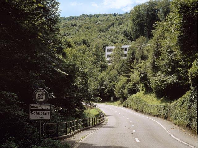 Idyllisch gelegen, aber mit zu wenigen Schülern: Das Oberstufenzentrum Fischingertal in Mumpf.