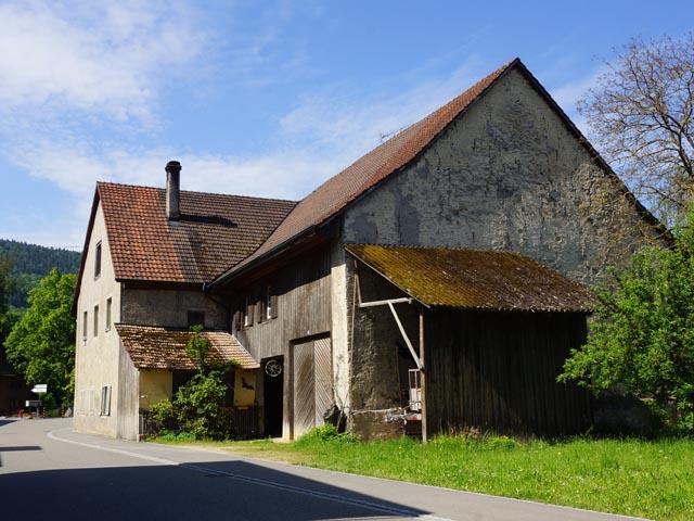 Pro Natura Aargau erwarb Ende 2016 das 1803 erstellte «Trottenhuus» in Wegenstetten. Foto: zVg
