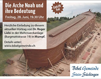 Vortrag Arche Noah
