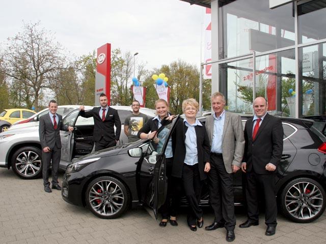 Neuheiten im fokus fr hlingsausstellung for Garage auto city cadaujac