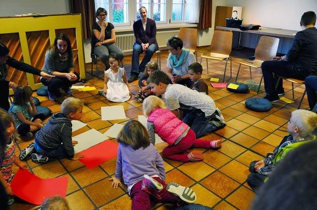 Nach mehrjähriger Pause wurde in Kaisten wieder eine ökumenische Kinderfeier gestaltet. Foto: zVg