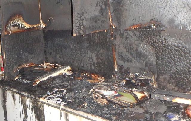 Zimmerbrand in Schupfart