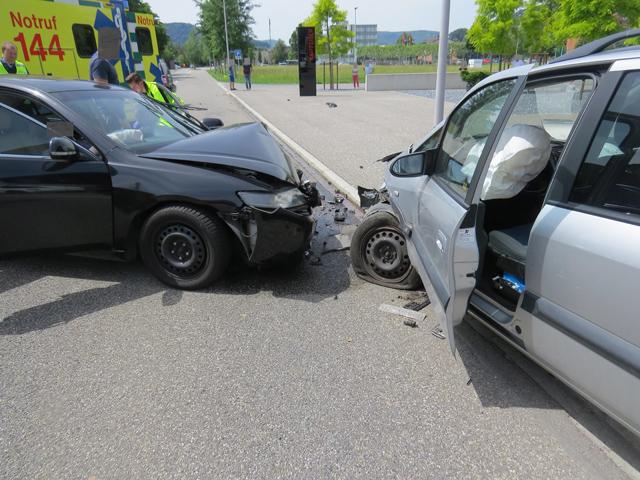 Unfall in Untersiggenthal