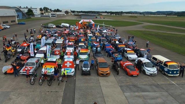 Die WAVE-Elektromobil-Rallye macht am 16. Juni Halt in Stein. Der Anlass dient der Werbung für die E-Mobilität und wird auf dem roten Platz bei der Turnhalle durchgeführt. Foto: zVg
