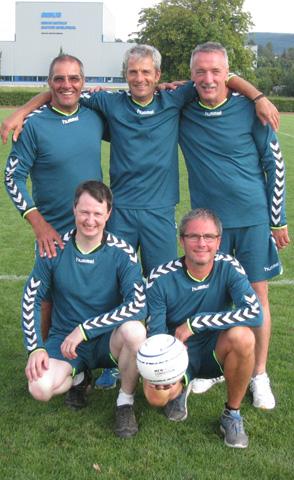 Team der Männerriege Schupfart 1