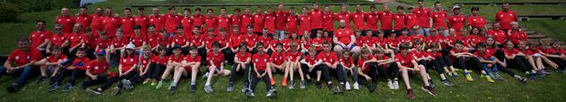Zeininger und Wallbacher Junioren im Pfingstlager