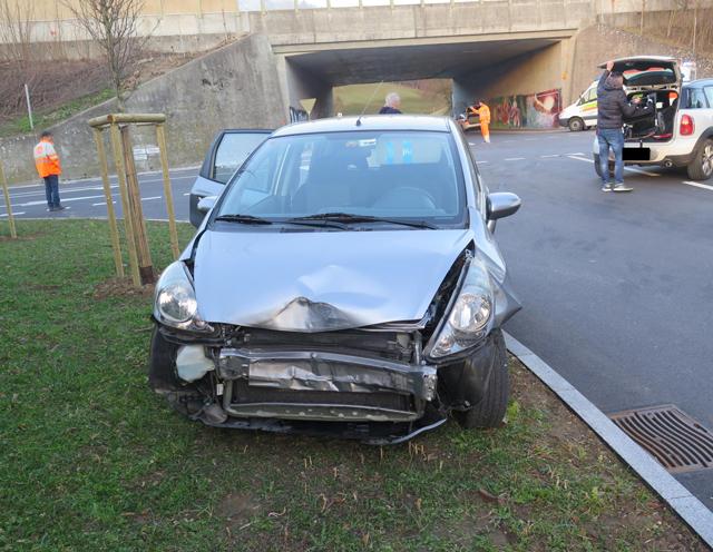 Verkehrsunfall in Giebenach
