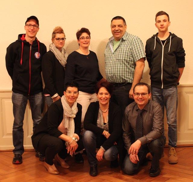 Vorstand der Musikgesellschaft Hellikon