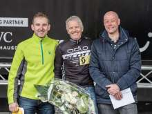 Podium Solo Masters (von links):  2. Rainer Christ, 1. Beat Zumstein, 3. Soren Mose.