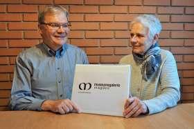 Übergabe des Präsidentenamtes von Francine Oesch an Alois Swoboda. Foto: Rosmarie Swoboda